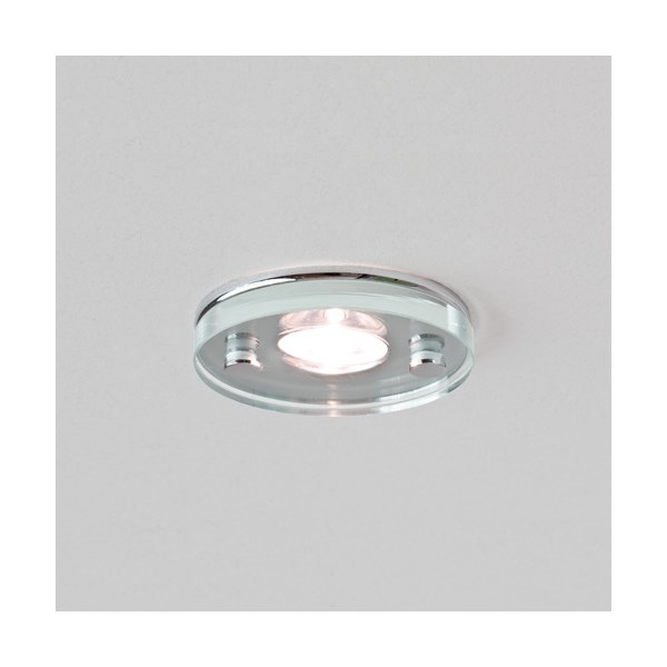 Takasu  LED, Round Glass and Chrome Downlight