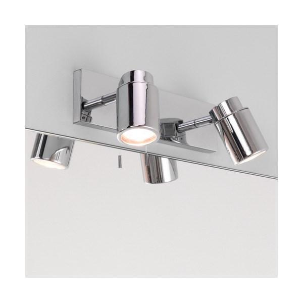Daisen  Twin bar, Surface Polished Chrome Spotlights