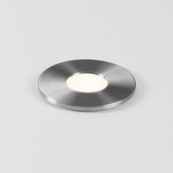 Terra Round 28 Exterior Stainless Steel LED Ground  Light