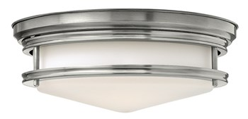 Ahlberg  Flush Mount, Antique Nickel