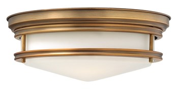 Ahlberg  Flush Mount, Brushed Bronze