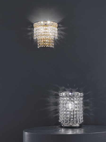 Brusa  2 Light Wall lamp