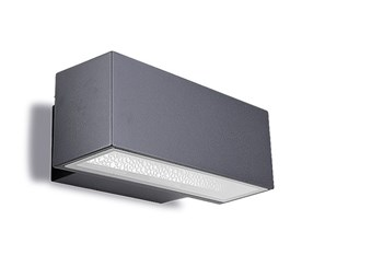 Posets  Wall Light, Surface Mounting, Up / Down Lighter, Urban Grey