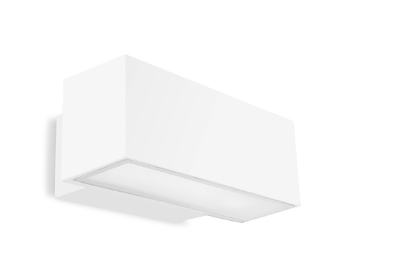 Afrodita Wall Light Surface Mounting, Up / Down Lighter White