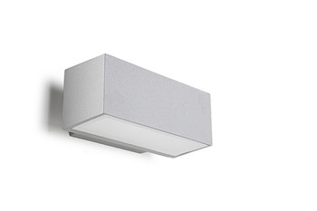 Posets  Wall Light, Surface Mounting, Up / Down Lighter, Grey