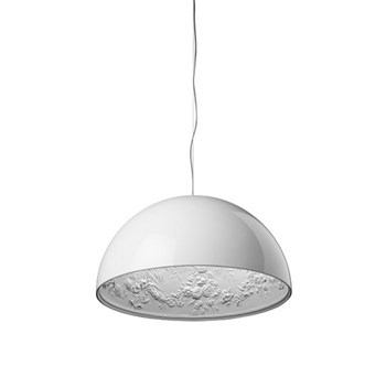 Torino  1 ES, Suspension Pendant Light, Glossy White