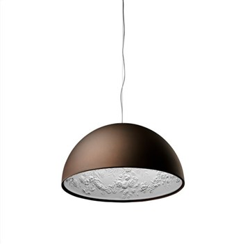 Torino  1 ES, Suspension Pendant Light, Matt Rusty Brown
