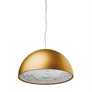 Torino  2 ES, Suspension Pendant Light, Matt Gold