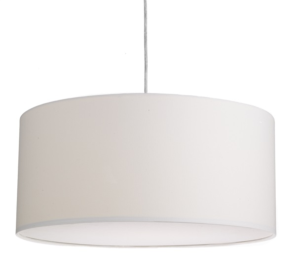 50CM Easy Fit Pendant Light with Drum Shade