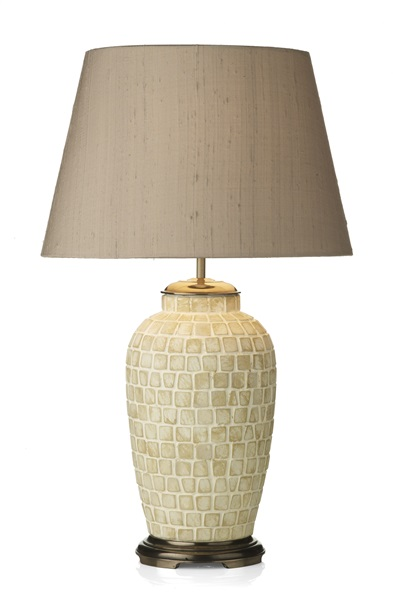 Ceramic Table Lamp Base Only (DHL), Medium