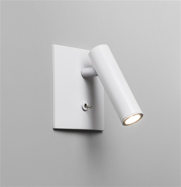 Enna LED Square Wall Light Switched