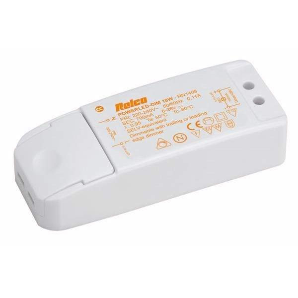 LED Driver - 18W 700mA Constant Current (Phase Dim