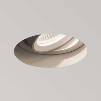 Kasagi  Round, LED, , Adjustable, Textured Recessed Downlight, White