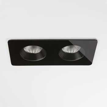 Fuji  Twin, Bathroom Downlight, Black
