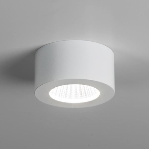 Round Ceiling Light White