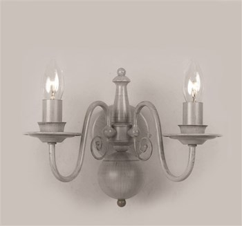 Frome  Flemish Wall Cream, Nickel