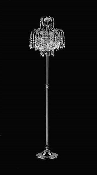 Ellen  Floor Lamp Nickel