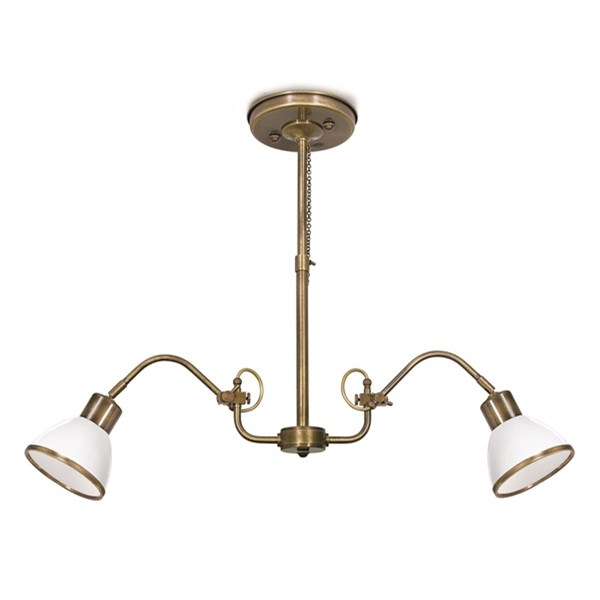 Ceiling Lamp Antique Suspension Adj.