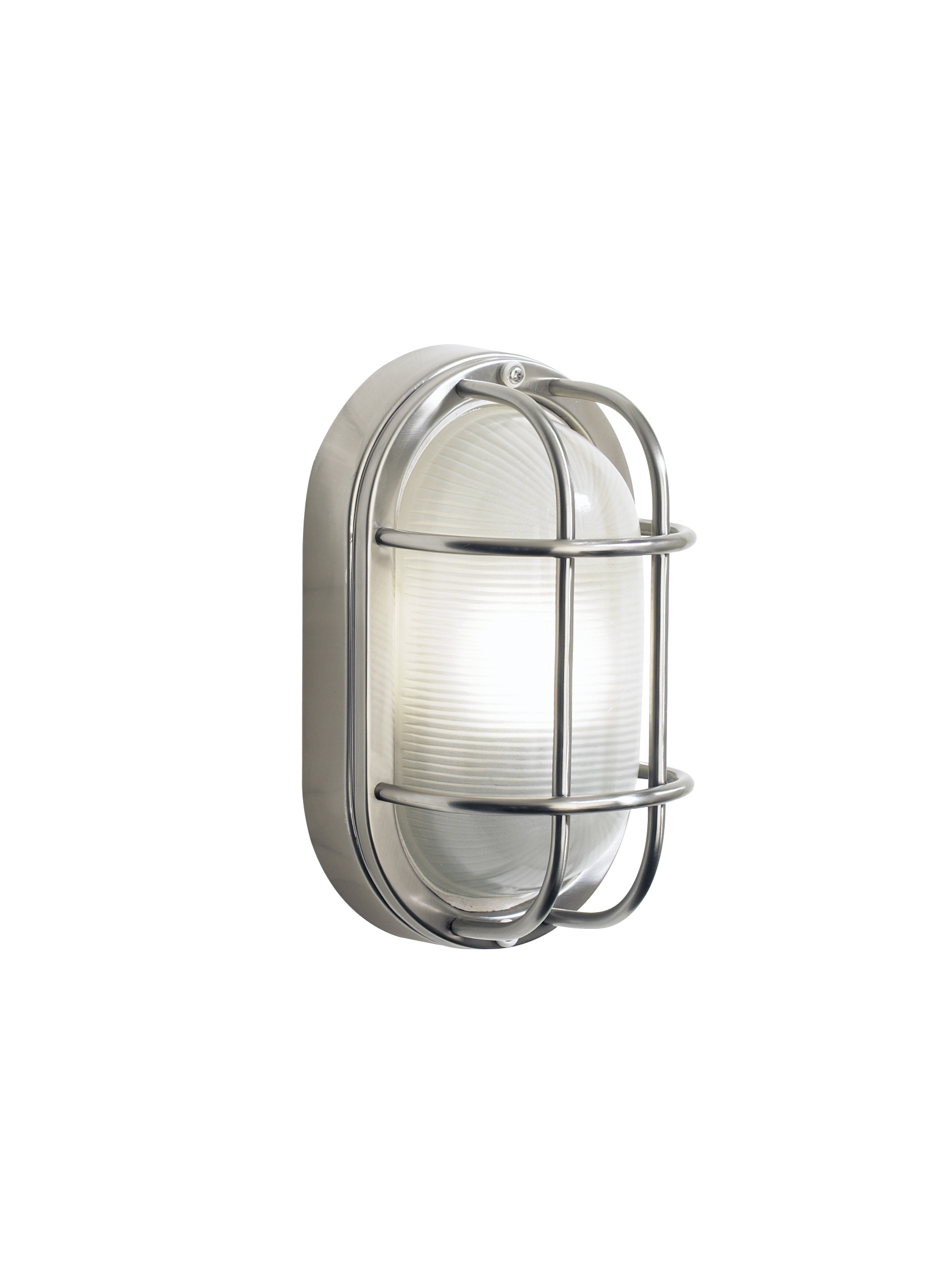 Fitting Outside Wall Lights : Durable Outdoor Bulkhead Oval Wall Light Lighting Design